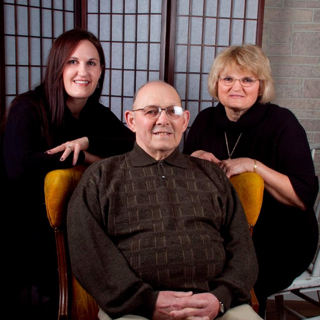 Christmas 2012: Mom and Dad and me